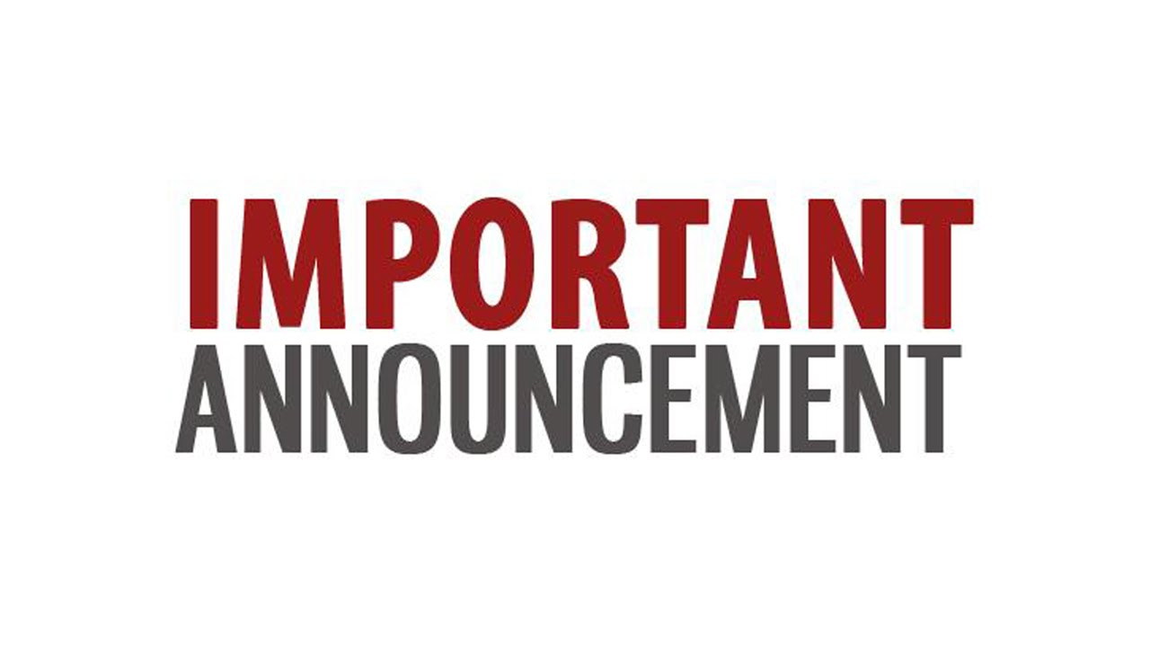 Open Gym Policy Update & Schedule Changes