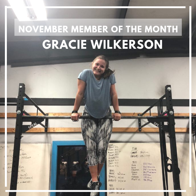 November Athlete of the Month
